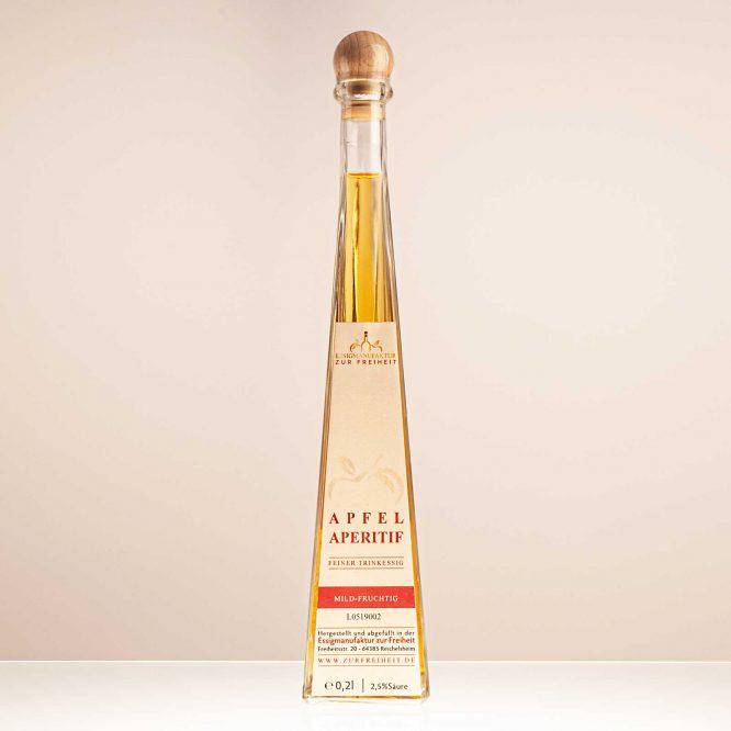 Apfelaperitifessig, Flasche 0,2 l - Essigmanufaktur zur Freiheit