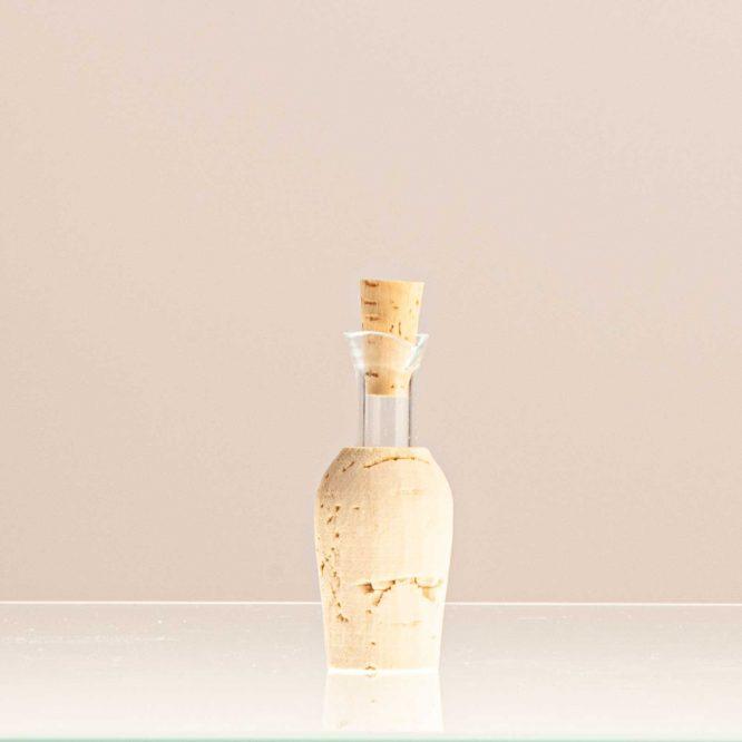 Ausgiesser aus Glas, mit Stopfen, klein, 1 Stück - Essigmanufaktur zur Freiheit