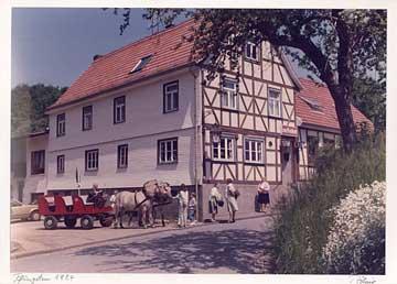 Gasthaus Zur Freiheit Pfingsten 1984