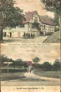 Postkarte - Gasthaus zur Freiheit - ca 1920