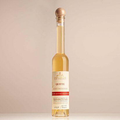 Quittenessig,  Flasche 0,2 L