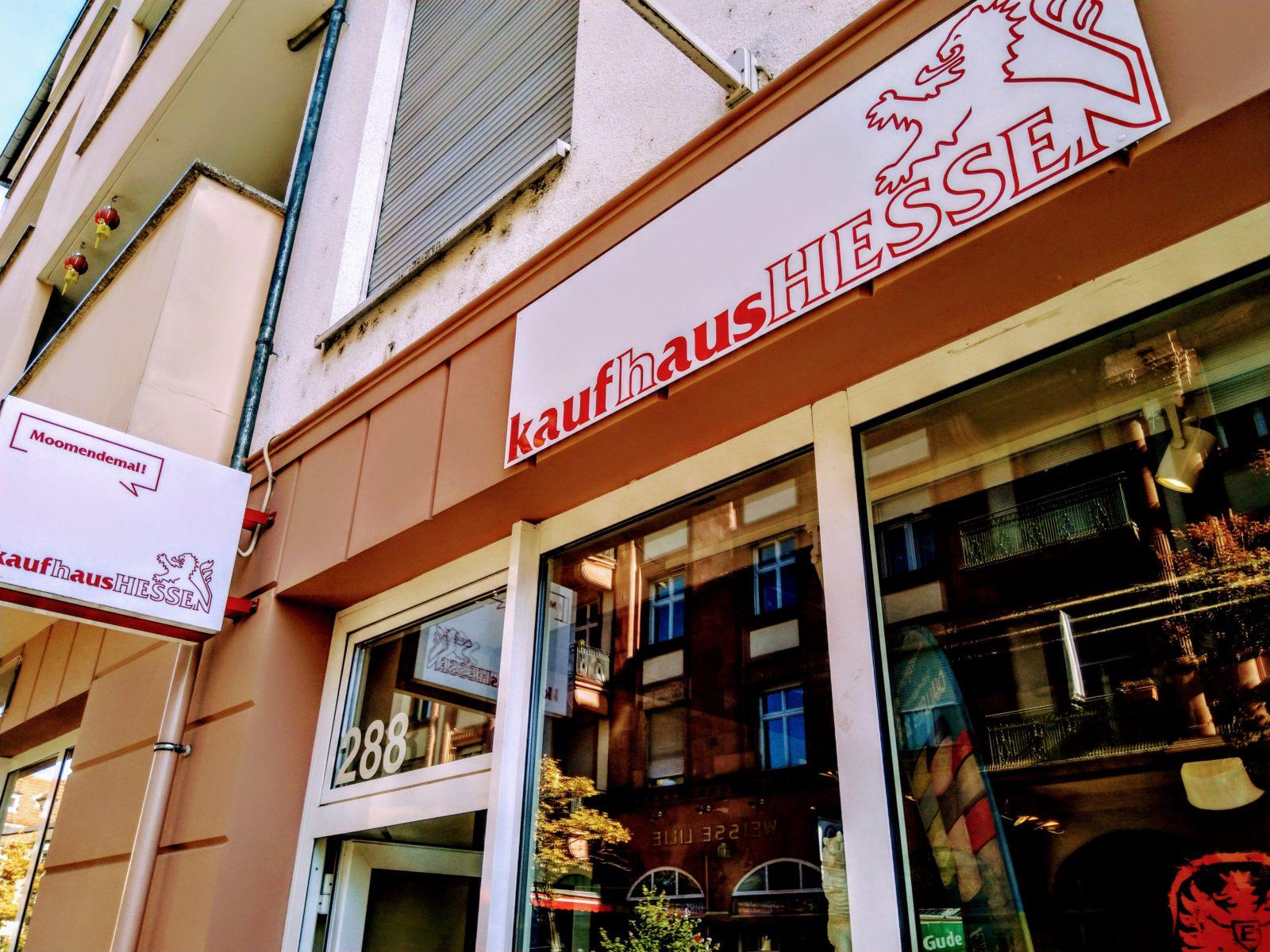 Kaufhaus Hessen – Frankfurt / Berger Straße